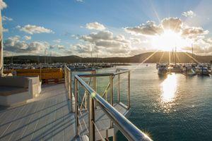 hamilton star sunset cruise