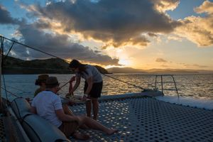 Sunset Sail - On the Edge (exp)