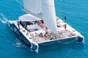 On The Edge Sailing Catamaran