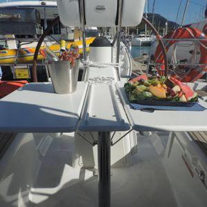 Jeanneau 36 sailing yacht cockpit