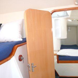 scimitar 36 catamaran cabin