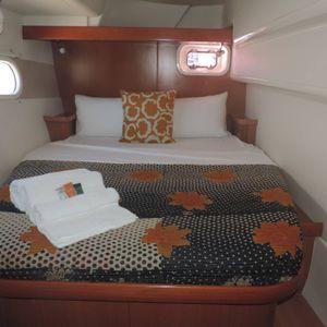 Leopard 46 sailing catamaran two keela aft cabin