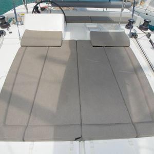 lagoon 450 sailing catamaran yacht outer bed